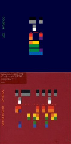 Coldplay X and Y Speed of Sound